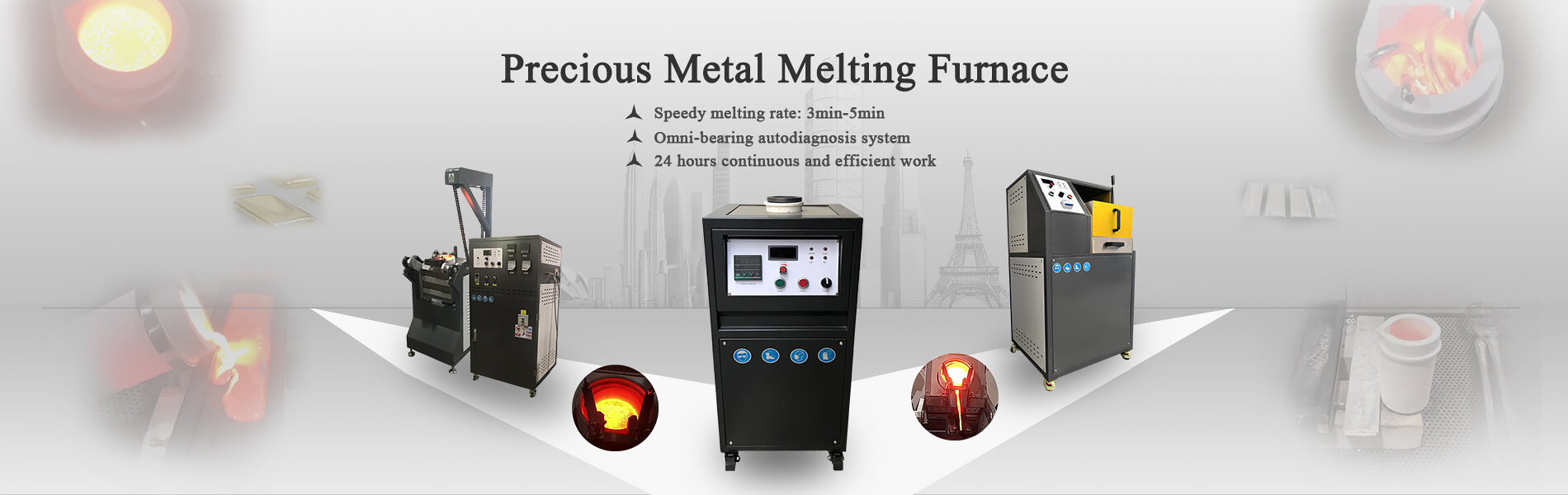 precious metal melting furnace