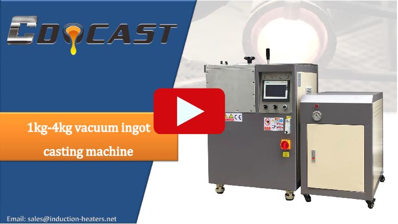 vacuum ingot casting machine