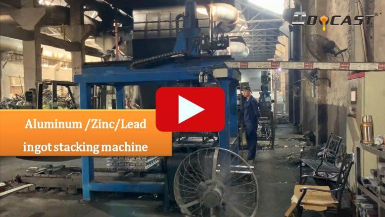 Aluminum /Zinc/Lead ingot stacking machine