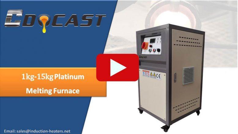 platinum melting furnace