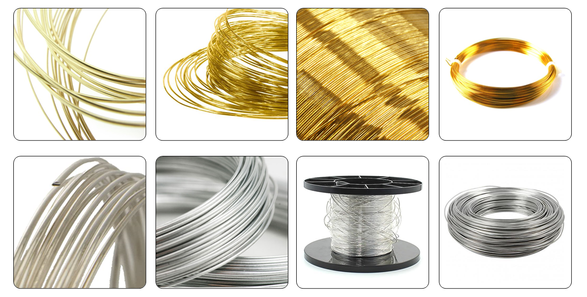 gold wrie silver wire