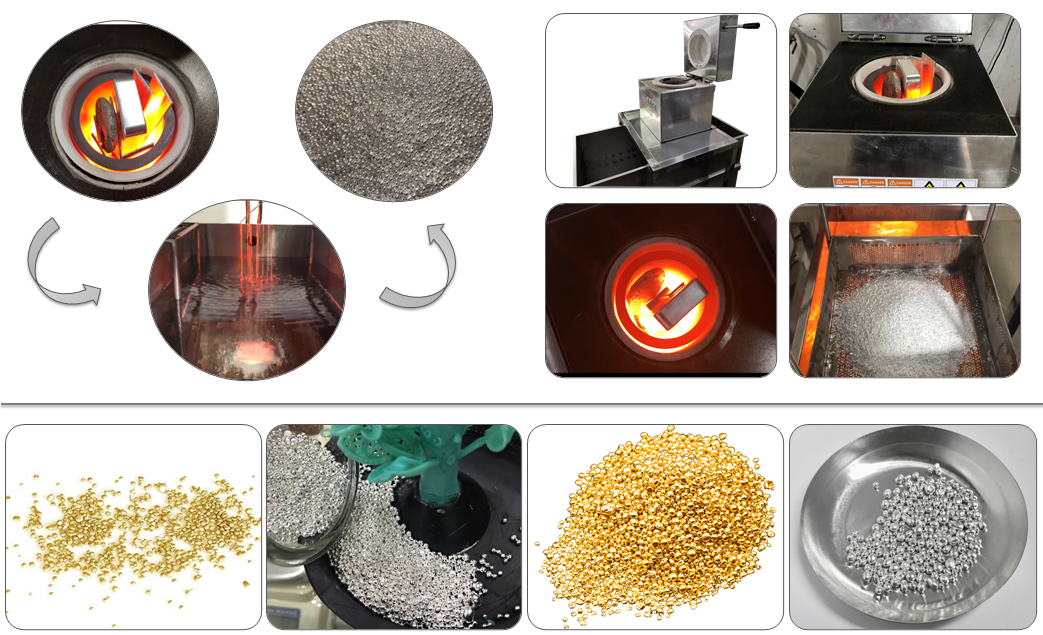 granulation casting machine application