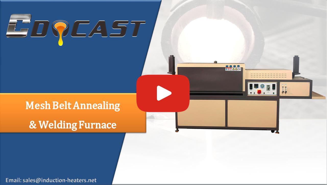 mesh belt annealing welding furnace