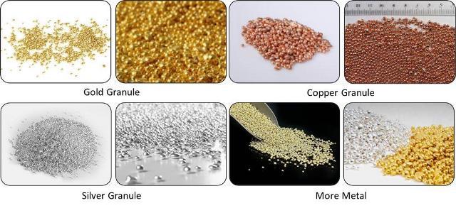 granules making machine application