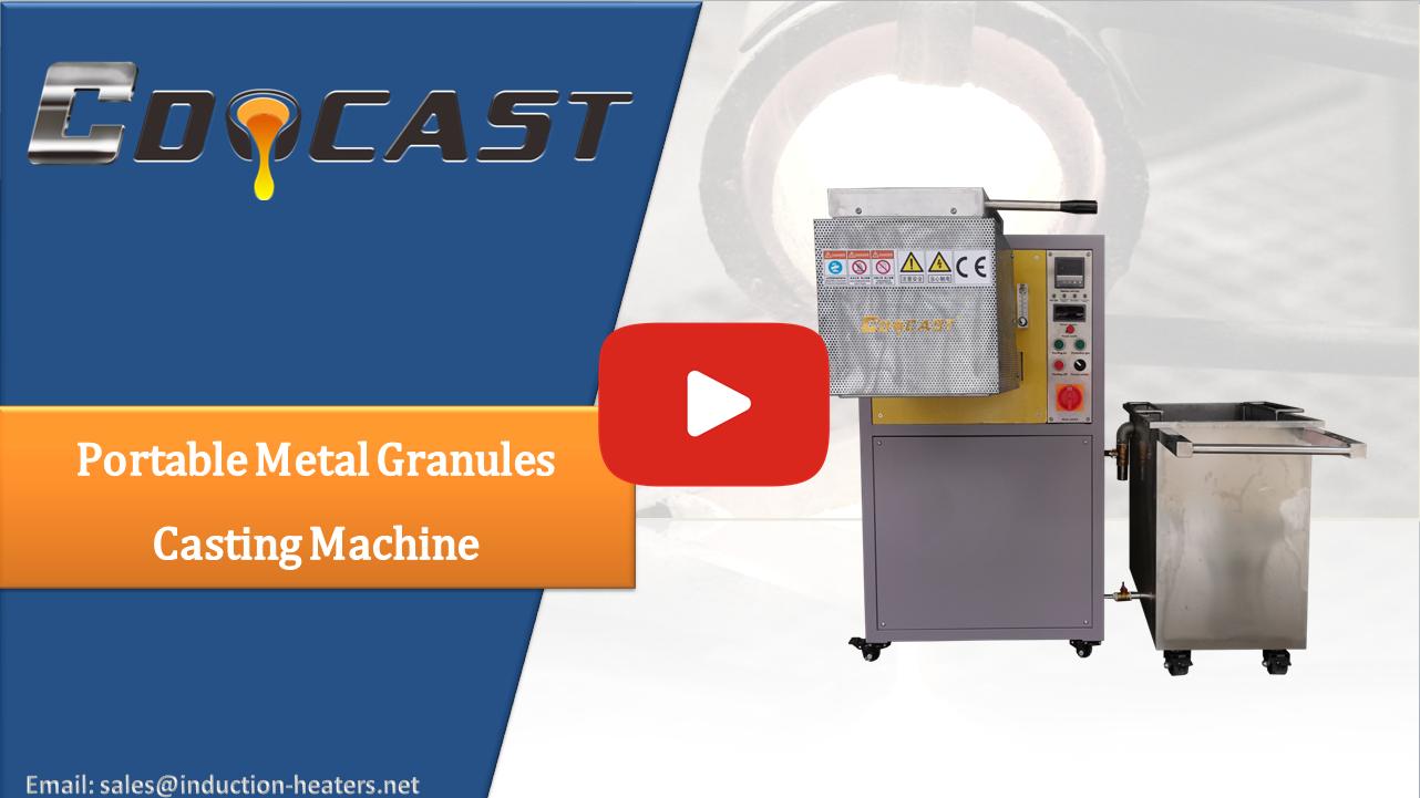 granules casting machine