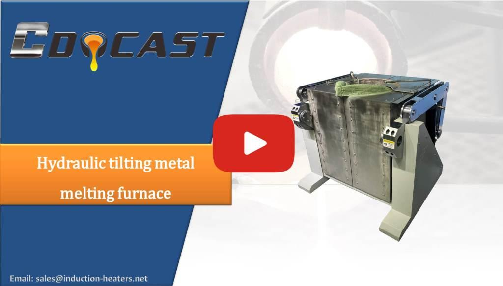 Hydraulic tilting metal melting furnace-Product shows