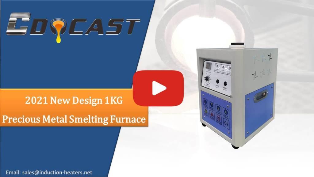 1KG precious metal smelting furnace