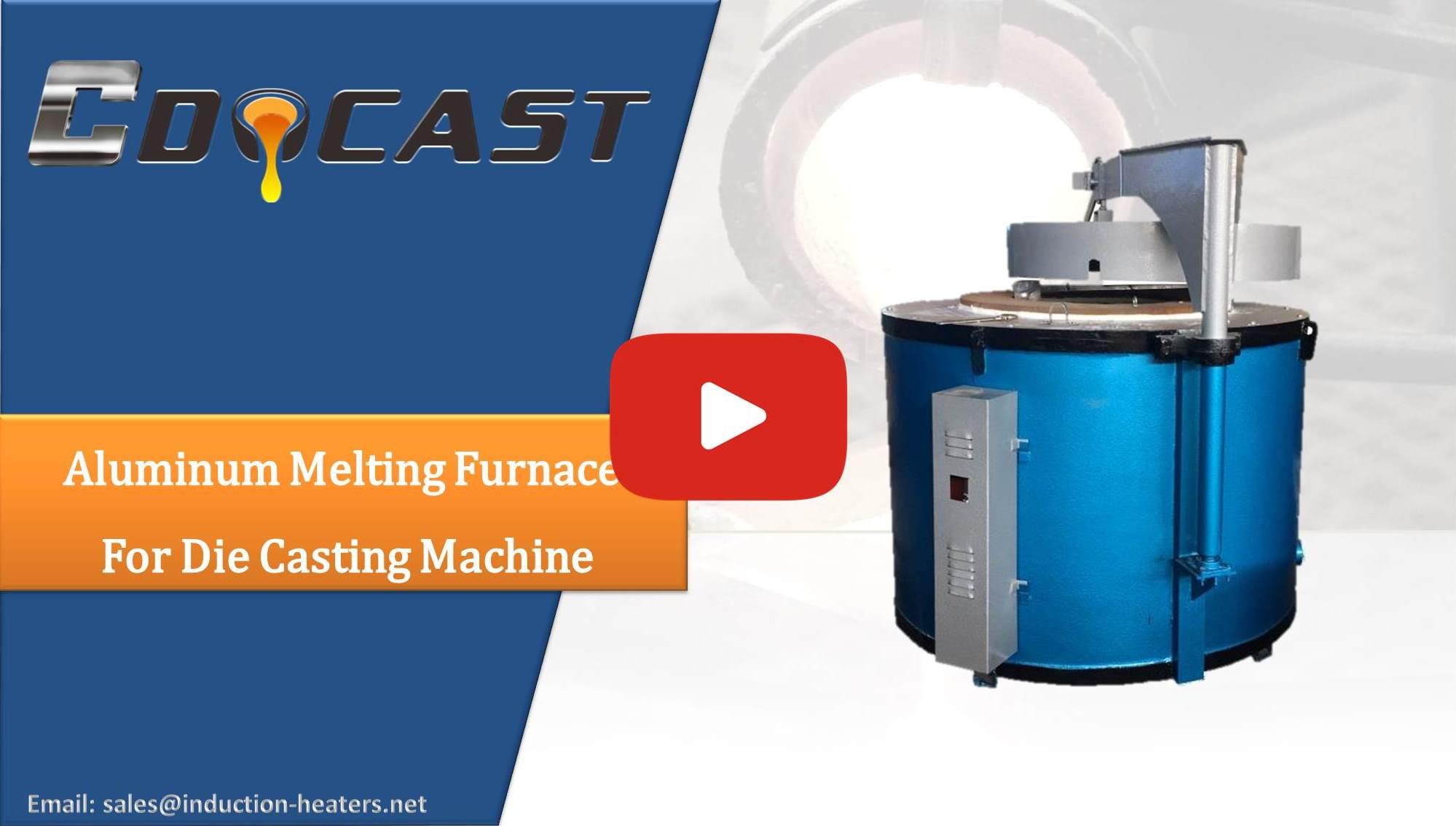 Aluminum Melting Furnace For Die Casting Machine