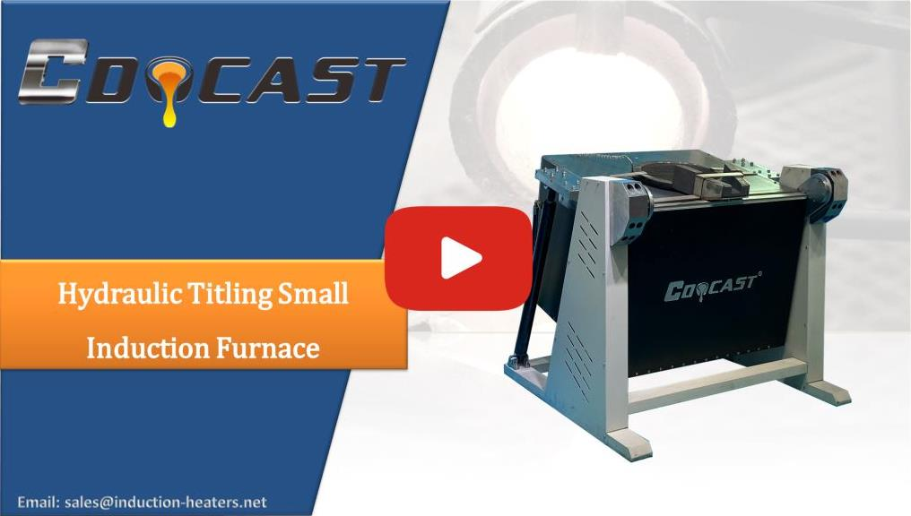 Hydraulic Titling Small Induction Furnace