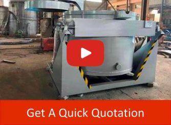 gas metal melting furnace