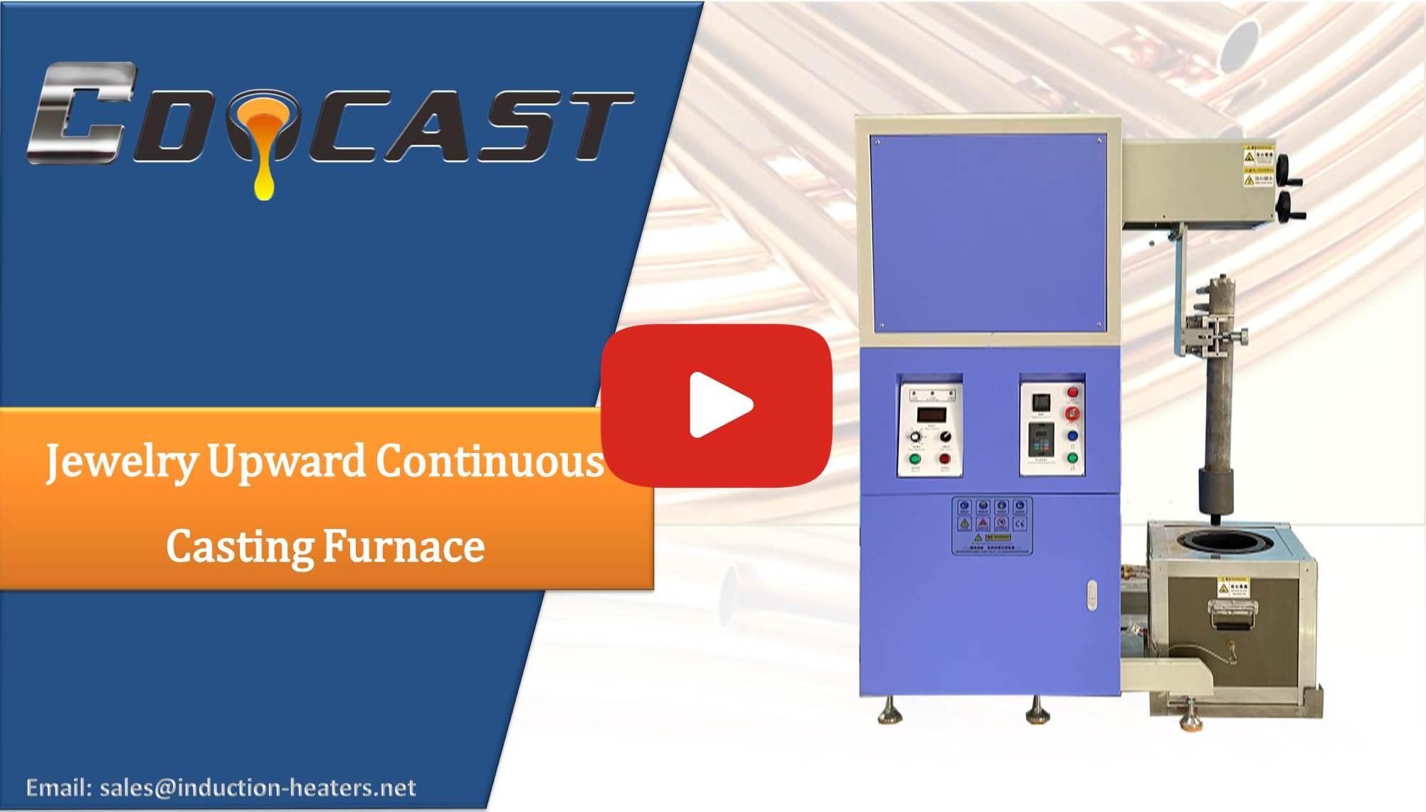 upward continuous casting equipment
