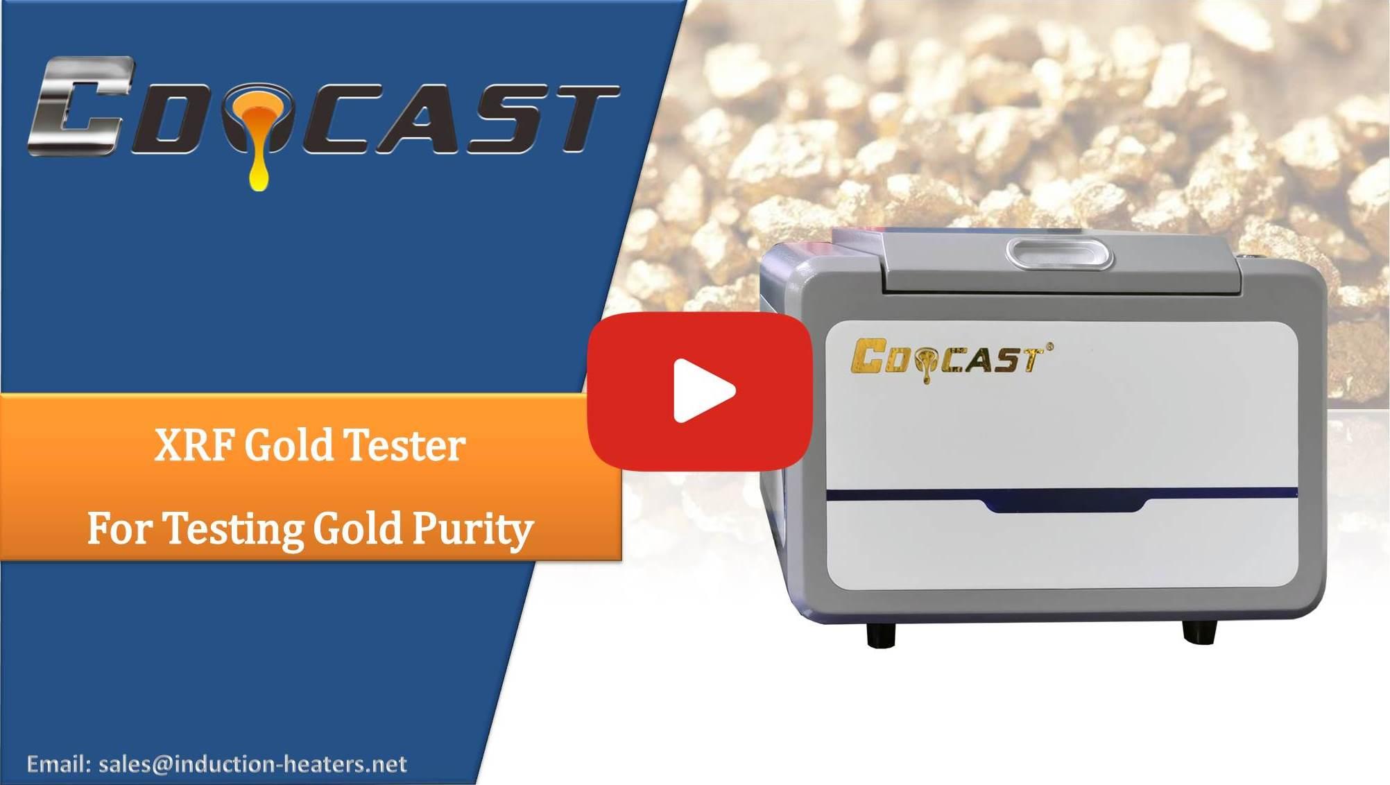 gold purity testing machine