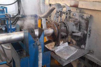 copper casting line