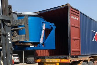 gas melting furnace shipping