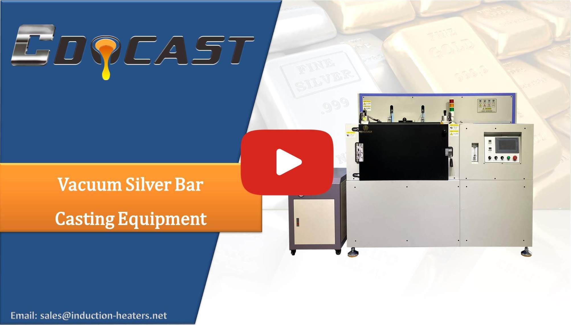 vacuum silver casting equipment